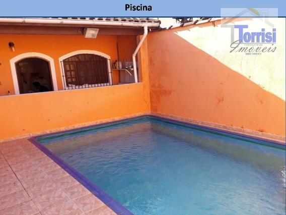 Casa Em Itanhaém, 02 Dormitórios Sendo 01 Suíte, Belas Artes, Ca0138 - Ca0138