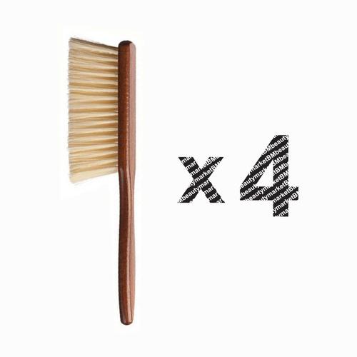 Imagen 1 de 2 de Cepillo De Barbero Cerdas Suave Eurostil
