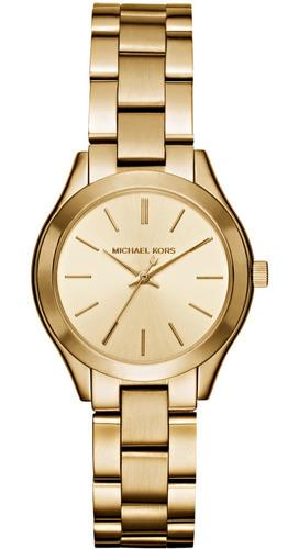 Imagen 1 de 1 de Reloj Michael Kors Fashion Acero Oro
