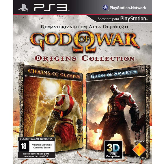God Of War: Origins Collection Sony Ps3 Lacrado Black Label