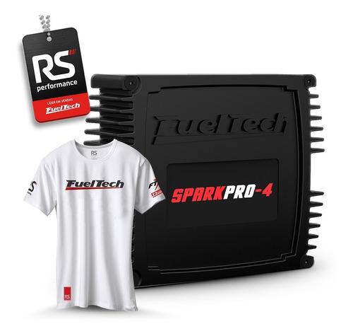 Fueltech Sparkpro-4 Sem Chicote (spark Pro 4) + Kit Brindes