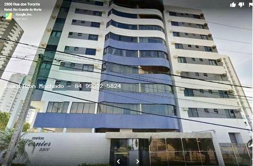 Imagem 1 de 15 de Apartamento Para Venda Em Natal, Lagoa Nova - Condomínio Vernier, 3 Dormitórios, 1 Suíte, 3 Banheiros, 2 Vagas - Ap0771_2-739977