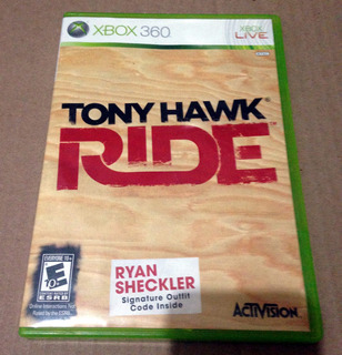 Tony Hawk Ride Juego Para Xbox 360 / Original
