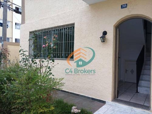 Imagem 1 de 21 de Sobrado Com 3 Dormitórios À Venda, 130 M² Por R$ 530.000,00 - Vila Galvão - Guarulhos/sp - So0137