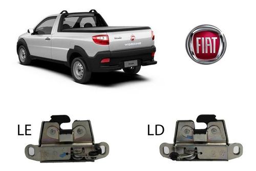 Par Fechadura Tampa Traseira Strada 2013 - Original Fiat