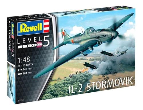 Imagem 1 de 8 de Kit De Montar 1:48 Il -2 Stormovik Revell