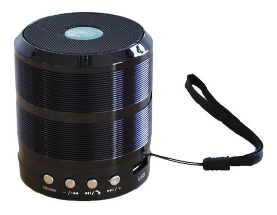 Caixinha De Som Portátil Com Bluetooth Mp3 Fm Sd Usb Barata