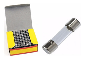 Fusível De Vidro 5x20 - Escolha O Modelo - 100 Peças