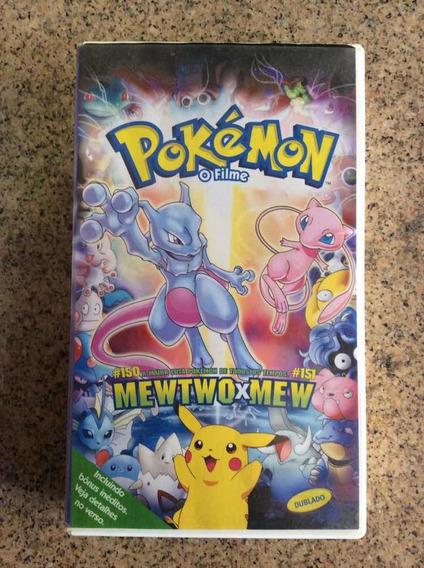 Fita Vhs - Pokémon O Filme -mewtwo Vs Mew