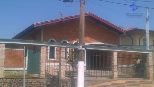 Casa Com 3 Dormitórios À Venda, 170 M² Por R$ 800.000  - Vila São Cristóvão - Valinhos/sp - Ca1526