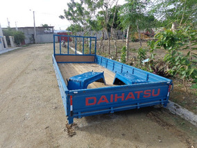 Cama De Camion Daihatsu Larga Azul