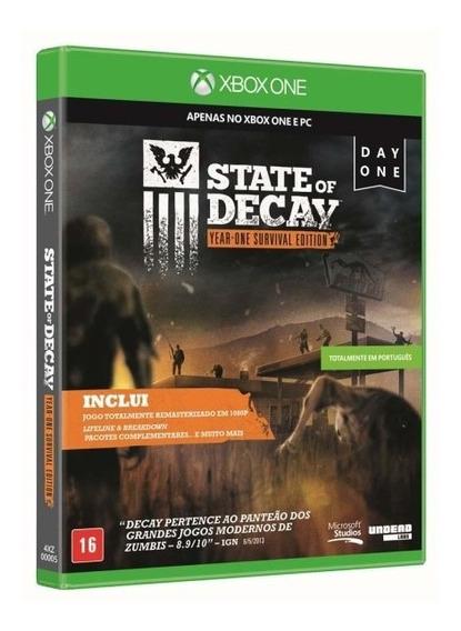State Of Decay - Midia Fisica Original E Lacrado - Xbox One
