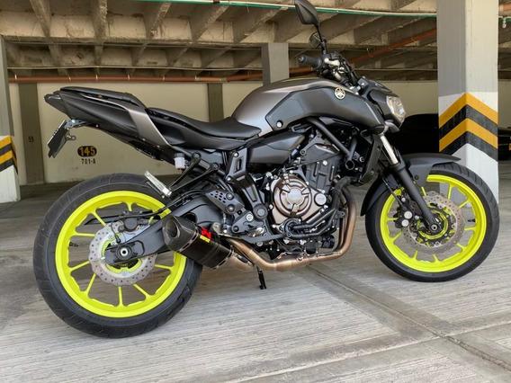 Yamaha Mt 07 - 2018, 200 Kms, Nueva.