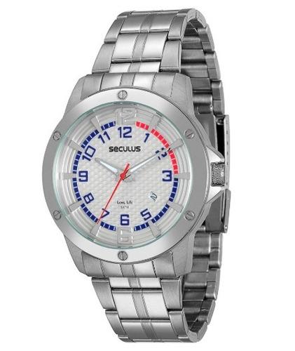 Relógio Masculino Seculus Long Life 20213g0svna1= 37