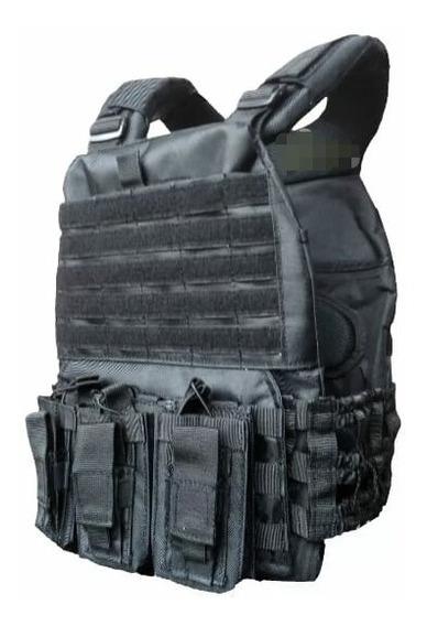 Chaleco Tactico Diseño Militar / Policial Con 3 Cargador