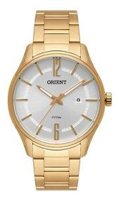 Relogio Orient Masculino Dourado Original Mgss1163 S2kx