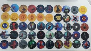 Coleccion Tazos Spiderman Lejos De Casa 50/50 Envío Gratis