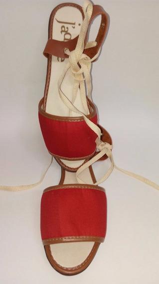 Sandália Vermelha Jadore