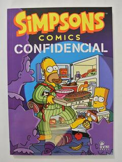 Cómic, Bongo, Simpsons Confidencial Ovni Press