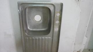 Lavaplato De Aluminio Con Mueble Gabinete