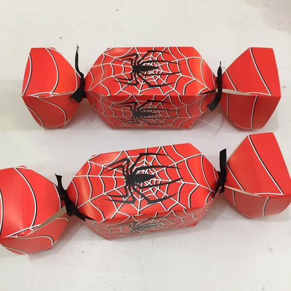 50 Caixa Bala Homem Aranha Lembrancinha (consultar)