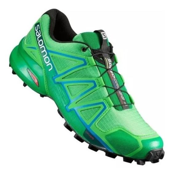 Salomon Speed Cross 4 Hombre, Trekking Running, Gym - Salas