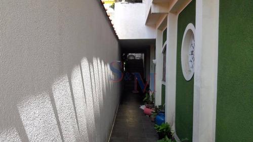 Imagem 1 de 30 de Sobrado Residencial À Venda, Cidade São Jorge, Santo André. - So0070