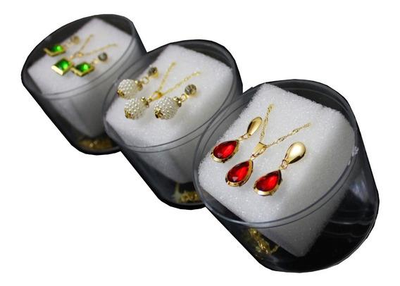 Kit 20 Caxinhas Para Colar E Brinco Atacado Revenda Luxo