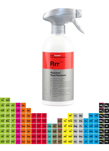 Koch Chemie Reactive Rust Remover Rrr Limpiador Ferric 500ml