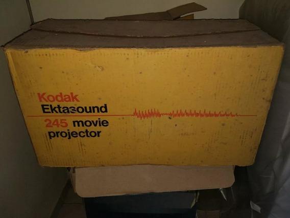 Projetor Kodal Ektasound Manual, Cabo, Carretel, Caixa
