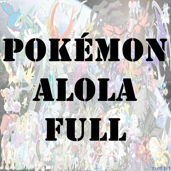 Pacote Alola Pokémon Sun Moon Ultra Lendários Shiny 6ivs 3ds