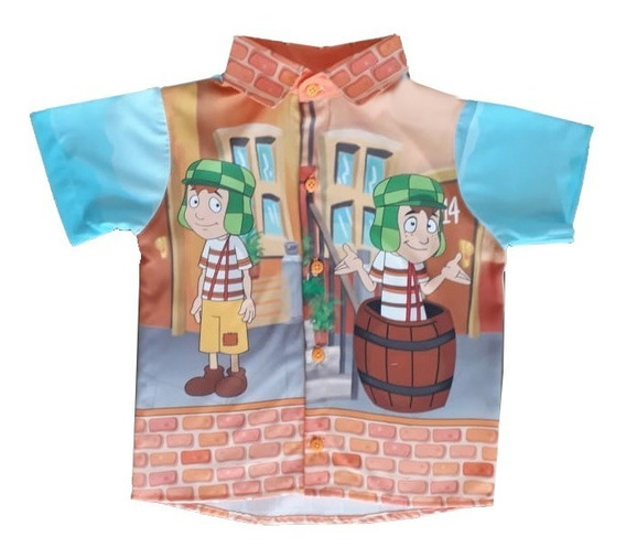 Camisa Chaves Adulto Pai Festa