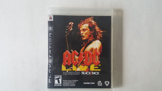 Ac Dc Live Rock Band Track Pack - Ps3 - Original