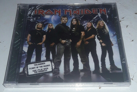 Dvd Iron Maiden - Tailgunner Flight Of The Icarus Can Play W