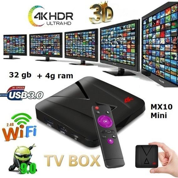 Aparelho Smart Tv Pro Wi-fi 4k Android 9.0 4g + 32g Plus
