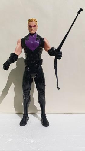 Boneco Avengers Marvel Hawkeye Hasbro 30cm Articulado Usado