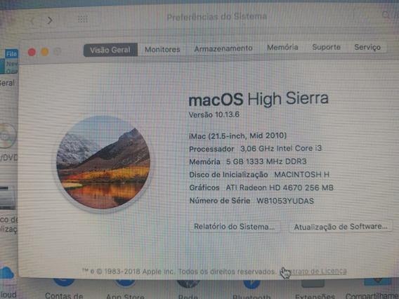 iMac A1311 7gb - Hd 500gb - I3
