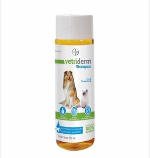 Shampoo Dermatológico Vetriderm Bayer Para Perros Y Gatos