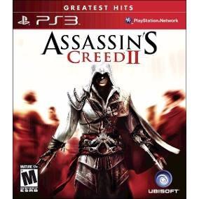 (frete Gratis) Assassins Creed 2 Ps3 Midia Fisica