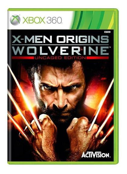 Xmen Origins Wolverine Xbox 360 Mídia Física Pronta Entrega