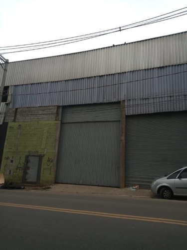 Galpão Para Alugar, 250 M² Por R$ 3.200,00/mês - Tremembe - São Paulo/sp - Ga0222