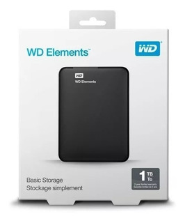Disco Rigido Externo Portatil Western Digital 1tb