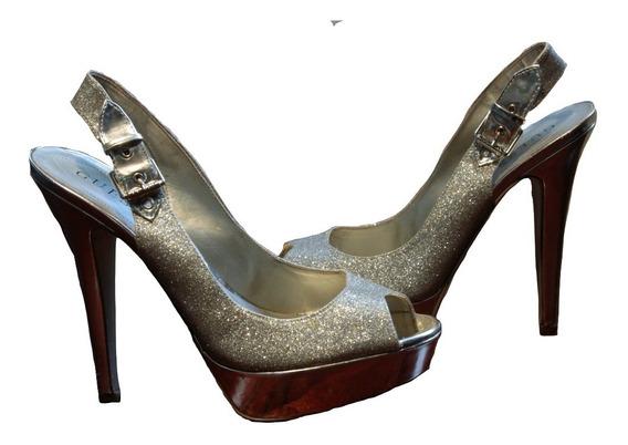 Zapatos De Fiesta Stilettos Guess Importados M9 (us) 39(arg)