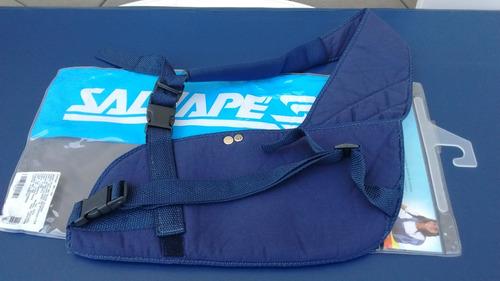 Tipoia Estofada Ms Bilateral 301 Salvapé Azul Tamanho M