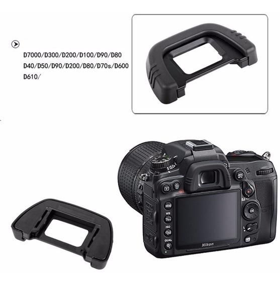 Dk-21 Borracha Ocular P/ Nikon D7100 D7000 D600 D200 D90 Etc