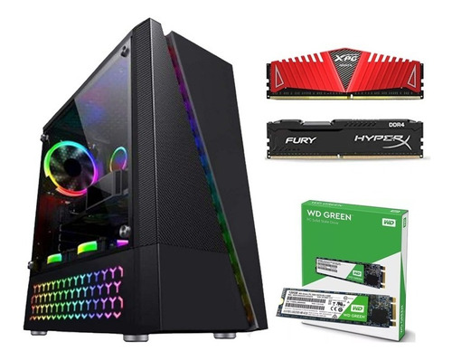 Pc Gamer A8 9600 Apu R7 8gb Ddr4 Ssd M.2 120gb Gab. Gamer