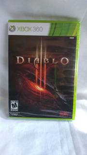 Diablo Iii - Nuevo Y Sellado - Xbox 360