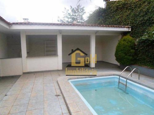 Casa Com 3 Dormitórios, 210 M² - Venda Por R$ 800.000,00 Ou Aluguel Por R$ 4.500,00/mês - Ribeirânia - Ribeirão Preto/sp - Ca1017