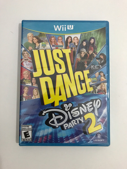Just Dance Disney Party 2 Wii U Mídia Física Original
