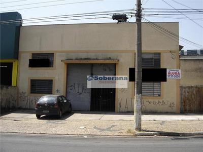 Barracão Comercial Para Locação, Jardim Do Trevo, Campinas - Ba0224. - Ba0224